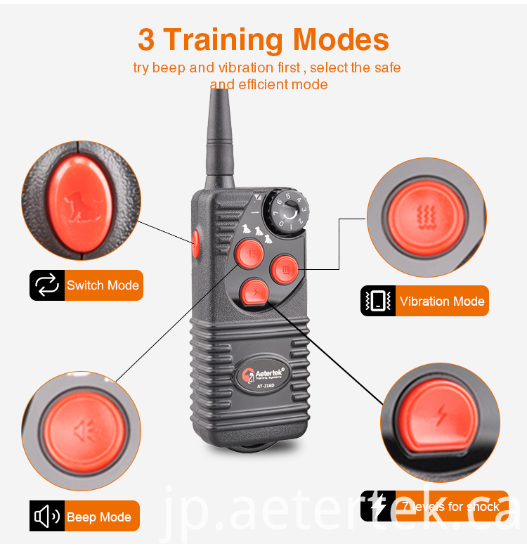 Shock Vibrating Beep Stop Barking Training